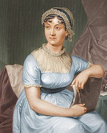 Austen as drawn by her sister Cassandra. Image: Jan Arkesteijn