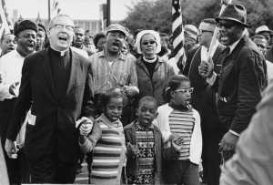 MLK leads the Selma to Montgomery march. Image: Abernathy Family