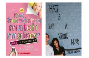 Young Adult fiction novels written by Arab-Australian authors: Randa AbdelFattah and  Sara Ayoub.