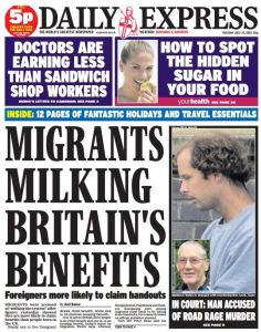 migrants milking our benefits